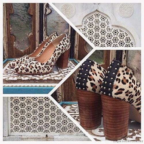 zapatos animal print  invierno 2016 Marignan en tus pies