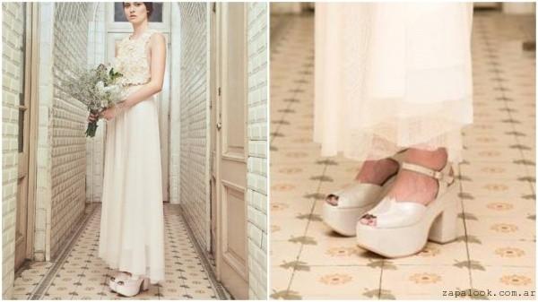 zapatos de novias invierno 2016