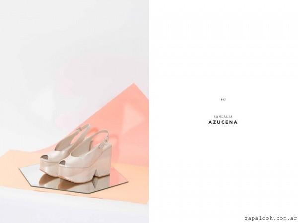 zapatos puntas descubiernta para novias invierno 2016 - LOMM
