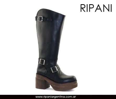 Botas altas negras invierno 2016 - Ripani