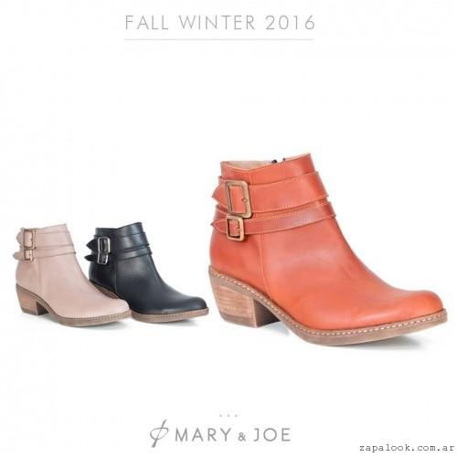 Botinetas cortas  invierno 2016 - Mary and Joe