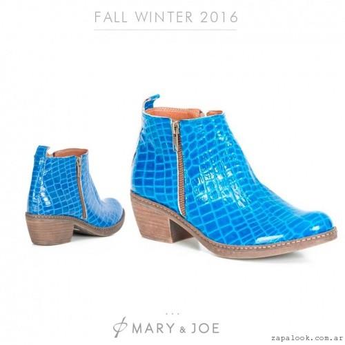 Botneta turquesa  invierno 2016 - Mary and Joe