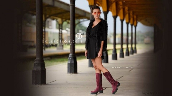 Green and Black - Botas caña alta de moda invierno 2016