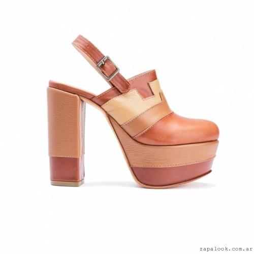 Zapato tonos marrones Pepe Cantero - Zapatos de fiesta invierno 2016