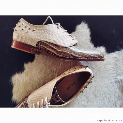 Zapatos abotinados invierno 2016 - Miki & Choya