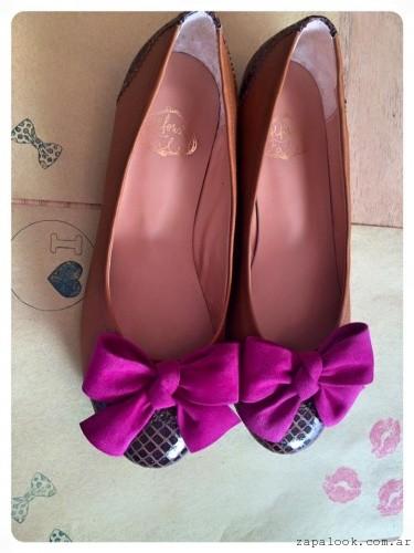 balerinas negras y purpura - Alfonsina Fal invierno 2016