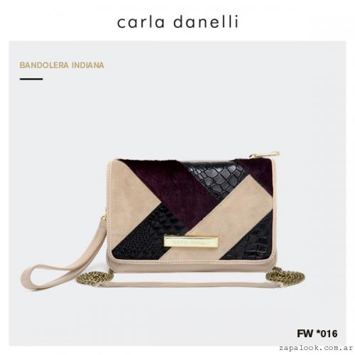 bandolera Carla Danelli invierno 2016