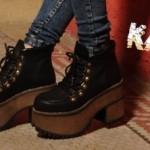 Kate Kuba – botas y borcegos con plataformas invierno 2016