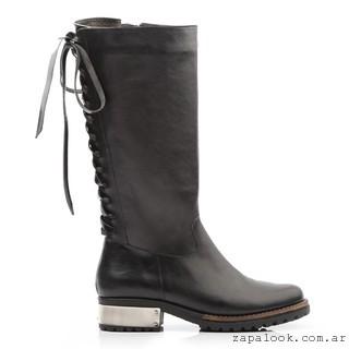 bota de montar negra - Ferraro calzados invierno 2016