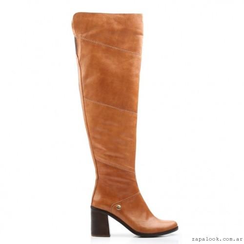 botas bucaneras color suela - Ferraro calzados invierno 2016