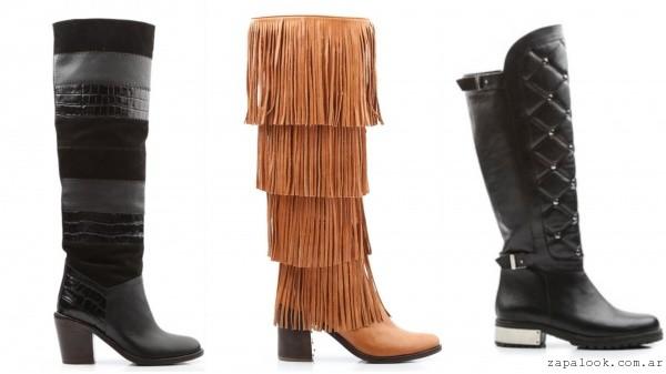 botas bucaneras y montar de moda invierno 2016