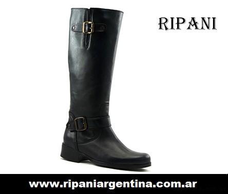 botas de montar negras invierno 2016 - Ripani