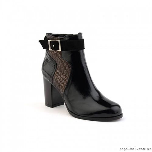 botinetas charol  otoño invierno 2106 - calzados Valerio
