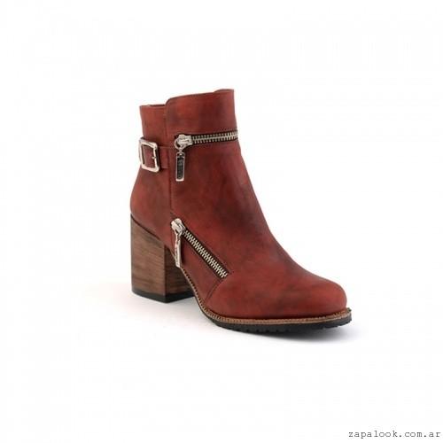 botinetas con cierres  otoño invierno 2106 - calzados Valerio