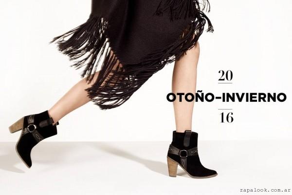 botinetas negras - calzados Lucerna otoño invierno 2016