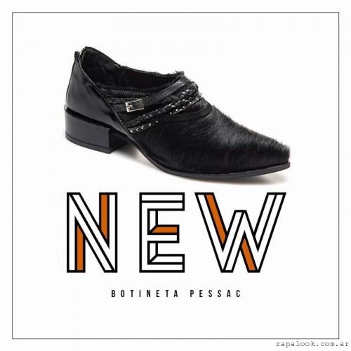 botita de pelo sintetico invierno 2016 - Margie Franzini Shoes