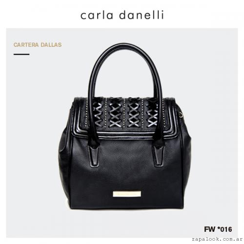cartera negras Carla Danelli invierno 2016