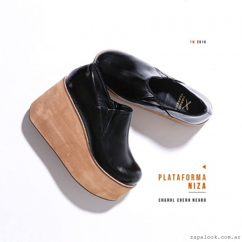 zapata plataforma invierno 2016 - Margie Franzini Shoes