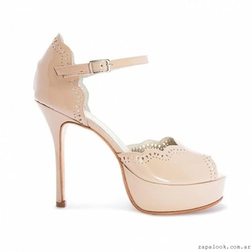 zapato alto nude Pepe Cantero - Zapatos de fiesta invierno 2016