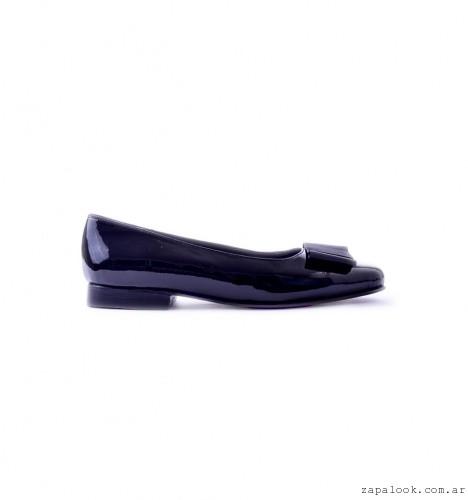 zapato charol negro otoño invierno 2016 - Tosone