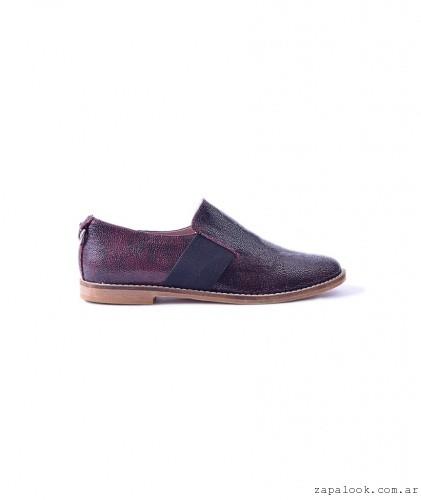zapato planto con elastico otoño invierno 2016 - Tosone