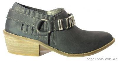 zapato texano de cuero invierno 2016 - TOPS calzados