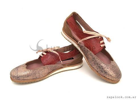 zapatos abotinados  invierno 2016 Luz Principe
