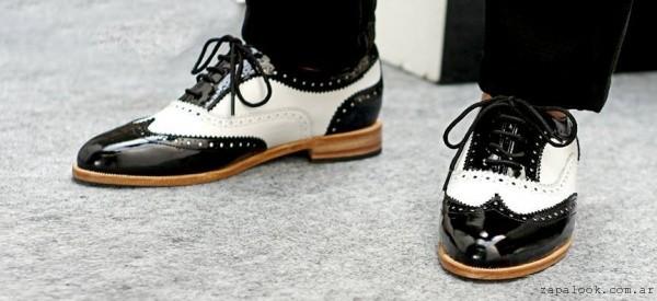 zapatos abotinados otoño invierno 2016 - Tosone