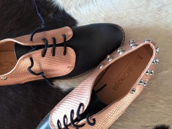 zapatos abotinados otoño invierno 2016 - Miki and Choya