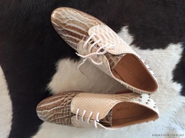 zapatos acordonados invierno 2016 - Miki and Choya