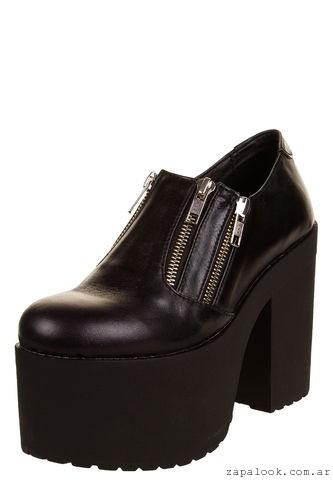 zapatos con plataformas teenager 47 street invierno 2016