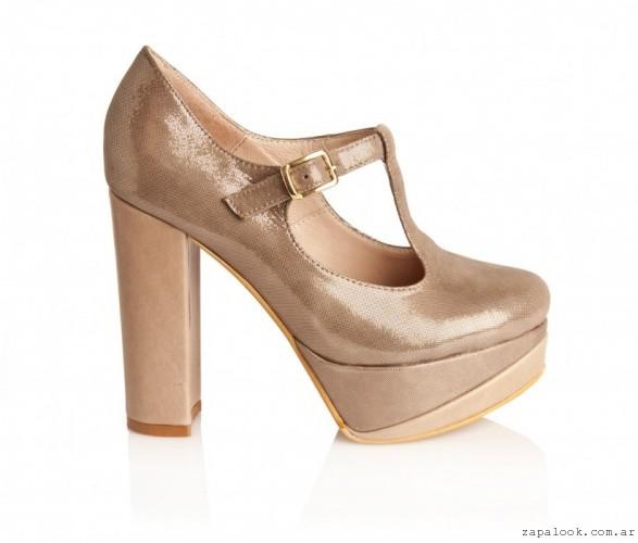 1d420cb1 zapatos dorados con plataformas – Calzado Alfonsa otoño invierno 2016