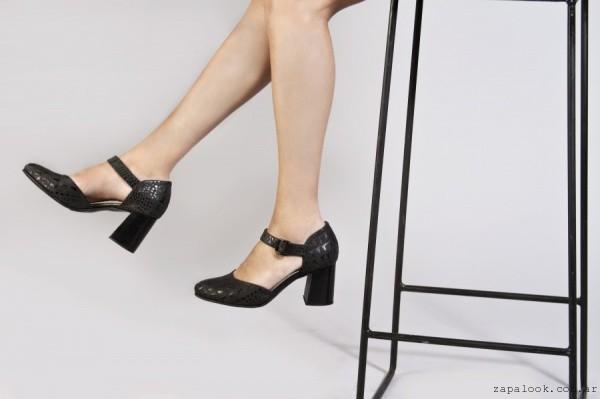 zapatos negros con tacos - Calzado Alfonsa otoño invierno 2016