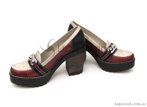 zapatos taco alto  invierno 2016 Luz Principe