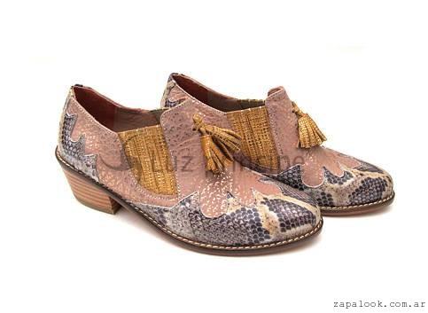 zapatos texanos  invierno 2016 Luz Principe
