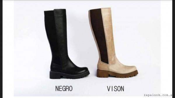 Botas caña alta  invierno 2016 - Lujuria calzados