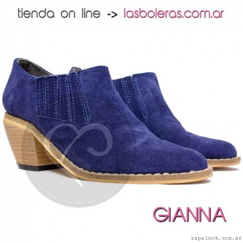 Botinetas azules invierno 2016 - Las Boleras