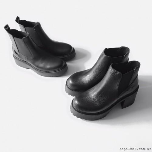 Botinetas negras invierno 2016 - Chao Shoes