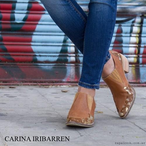 Botitas tonos marrones  invierno 2016 - Carina Iribarren
