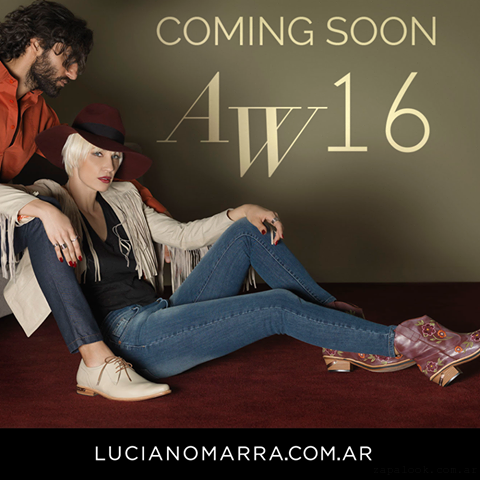 Coleccion calzados  invierno 2016 - Luciano Marra