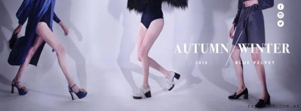 Salman - zapato con taco alto  invierno 2016