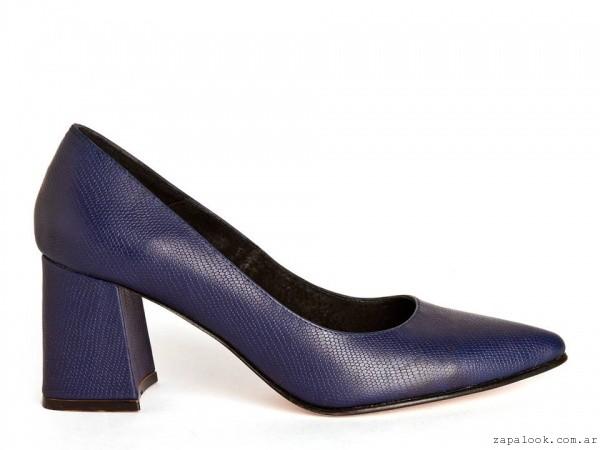 Stilettos azules  invierno 2016 - Salman