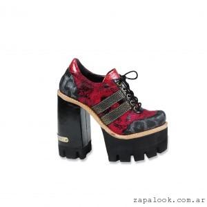 Zapatos altos acordonados  invierno 2016 - Luciano Marra