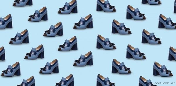 Zapatos azules  invierno 2016 - Josefina Ferroni
