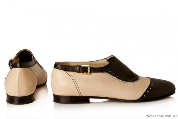 Zapatos mix textura  invierno 2016 - Josefina Ferroni