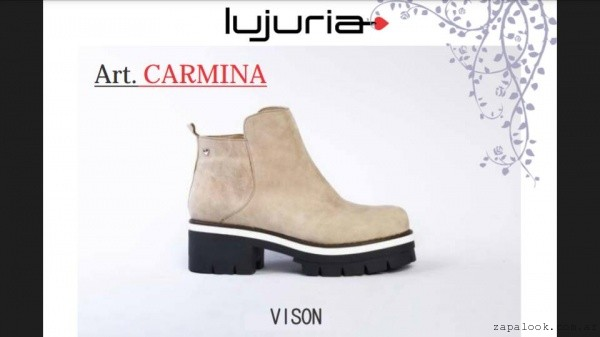 botinetas bajas invierno 2016 - Lujuria calzados