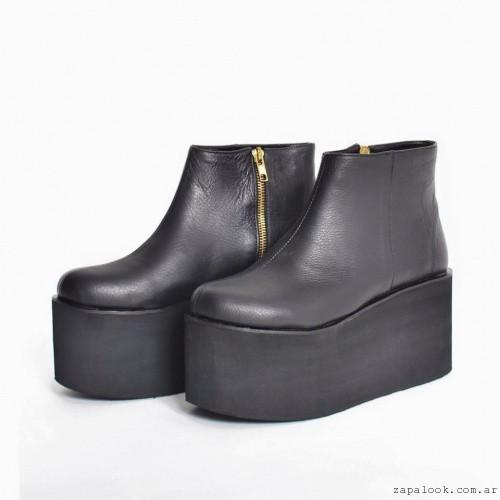 botinetas con plataformas invierno 2016 - Chao Shoes