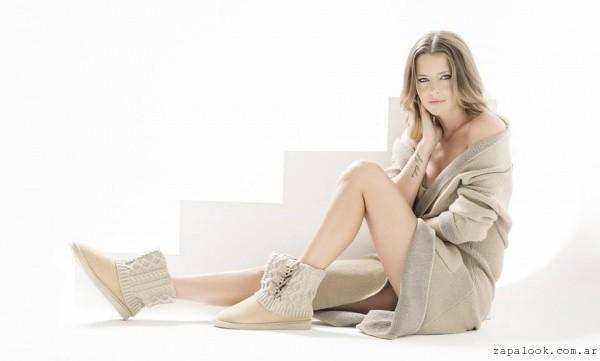 botinetas con tejidos invierno 2016 - Liotta