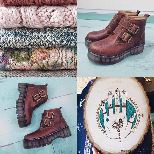 botitas con hebillas Las Motas - Calzado otoño invierno 2016
