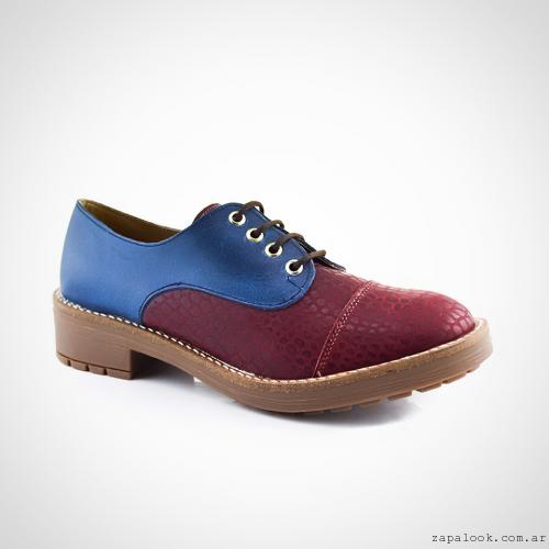 zapatos abotinados  invierno 2016 - La Leopolda